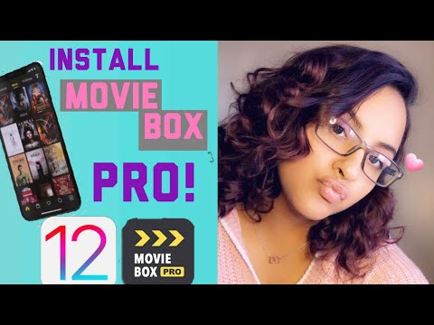HOW TO DOWNLOAD MOVIE BOX| (PRO) ON IPHONE ! | BLESSED FAMILY