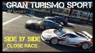 GT Sport - 3 Wide Finish