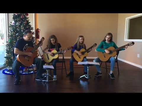 Silent Night Performed Talented Students From 6 Strings Music Academy