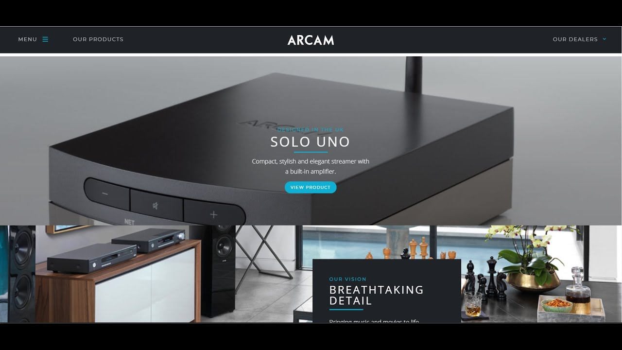 "Arcam Solo Uno ""Deep Inside"": THE REAL UNBOXING"
