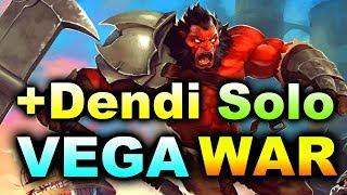 VEGA +SOLO +DENDI vs WAR - BTS Summer Cup DOTA 2