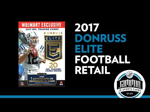 2017 Donruss Elite Football Blaster Box - WalMart Exclusive