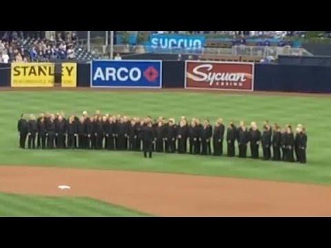 MLB team under fire over national anthem mixup