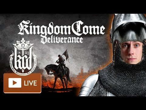 Kingdom Come: Deliverance [LIVE] ♞👑 #08 Sex, Bugs and Rock'n'Ride [Cam] German/Deutsch