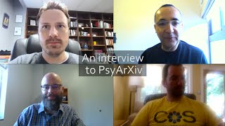 An interview to PsyArXiv