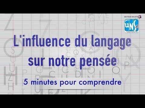 L'influence du langage sur notre pensée - Pascal Gygax