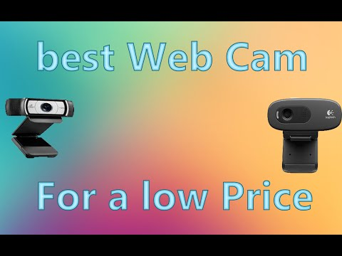 The BEST cheap Web Cams for youtube
