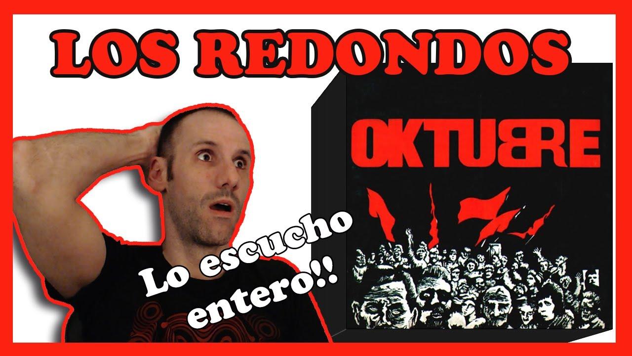 🤯 REACCION a 🚩OKTUBRE 🚩 de  LOS REDONDOS (Patricio Rey y sus Redonditos de Ricota)