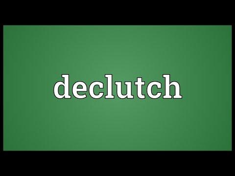 Header of declutch