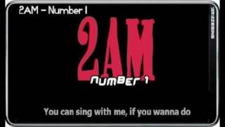 2AM - Number 1 (Sing-along Simple Romanized Lyric).mp4 MP3