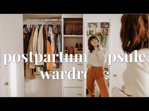 POSTPARTUM CAPSULE WARDROBE | WINTER EDITION | Ethical & Sustainable Fashion
