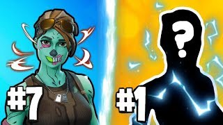 9 RARE Fortnite SKINS that HAS NO - 9 selest Fortnite Skins (Season 8)