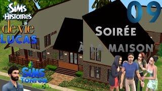 Les Sims : Histoire de vie [Lucas] - ep09 : Soirée à la maison