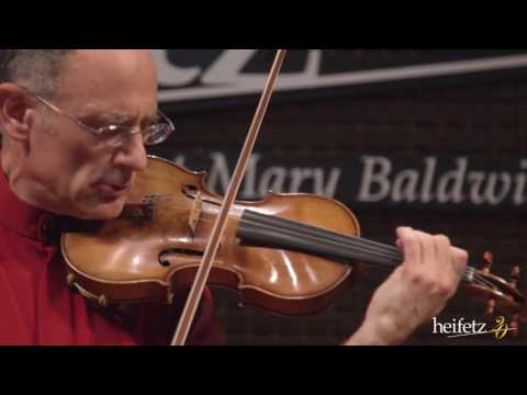 Heifetz 2016: Mark Kaplan Plays Bach