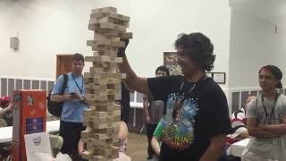 Charriii5's Giant Jenga at TooManyGames 2016 (feat. Nathaniel Bandy)