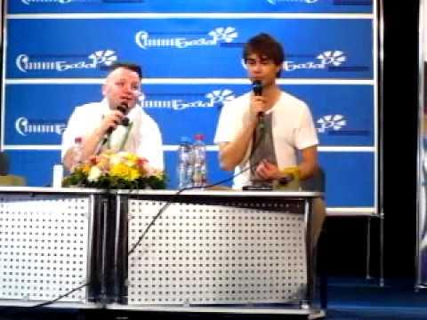 Alexander Rybak's press conference in Vitebsk, Belarus. 12.07.12