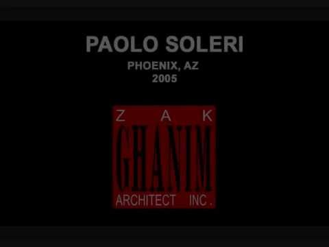 Interviews by Zak Ghanim with Paolo Soleri (Audio Only)