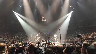 """Metallica Winnipeg 9/13/18 Kirk and Rob Doodle """"Taking Care of Business"""""""