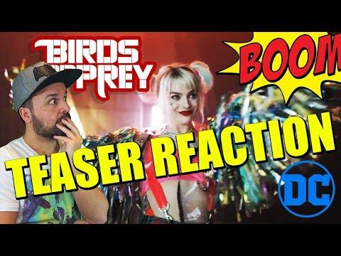 BIRDS OF PREY - TEASER TRAILER - REACCIÓN - REACTION - REVIEW - HARLEY QUINN - WARNER