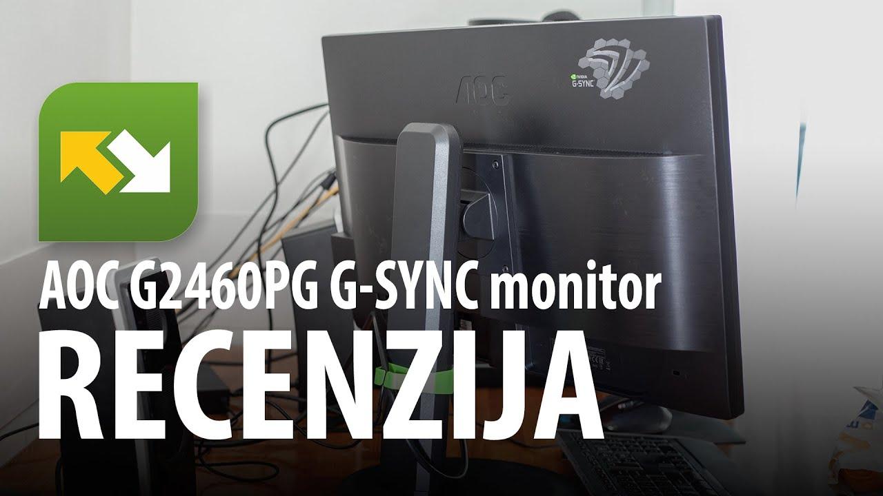 Recenzija : AOC G2460pg G-SYNC monitor - YouTube