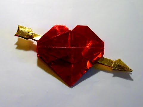 Origami Valentine By Robert J Lang Part 1 Of 4 Youtube