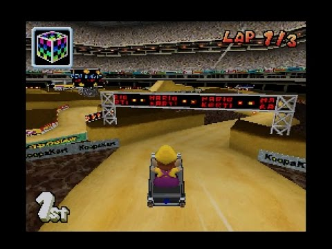 mario kart ds wario stadium 1080 hd youtube. Black Bedroom Furniture Sets. Home Design Ideas