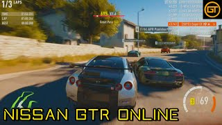 Forza Horizon 2 | Nissan GTR Online | Scrapping My Way To The Front!