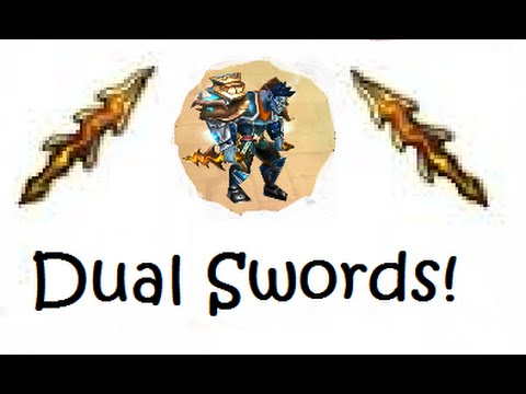 Getting Dual Swords | Order & Chaos Online