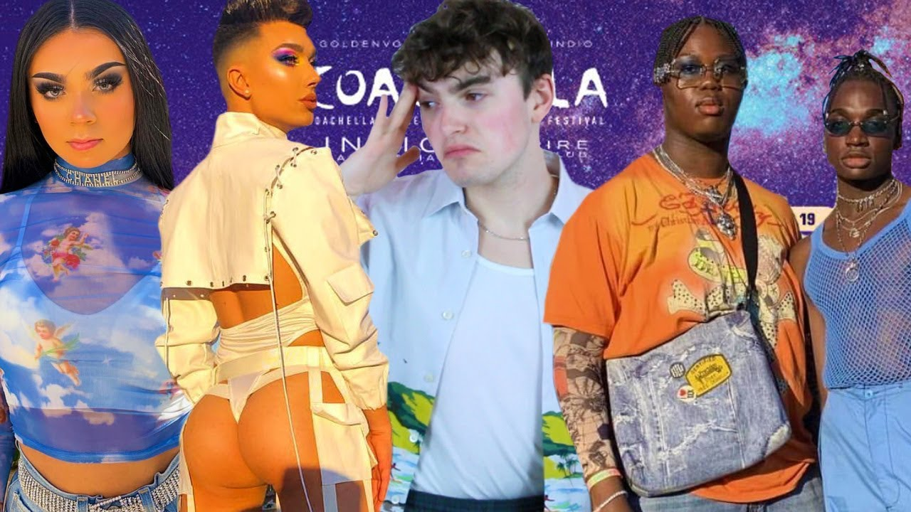 Coachella 2019 Fashion Roast Review I Ve Seen James Charles Ass Too Many Times This Weekend