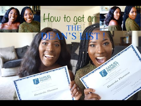 DEAN'S LIST IN NURSING SCHOOL | HOW TO STUDY IN COLLEGE| HOW TO GET ON DEAN'S LIST