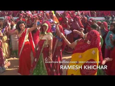 Bhar Layi Bhabhi Chach Rabri Ko Pyalo Song Rajasthani Wadding Dance