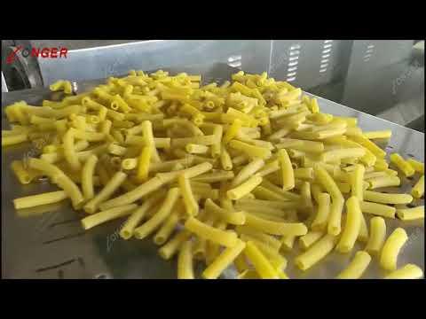 Auatomatic Macaroni Pasta Production Line Macaronis Processing Equipment Whatsapp +8618537181190