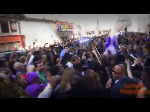 Allen Toussaint Funeral Procession - 11 20 2015