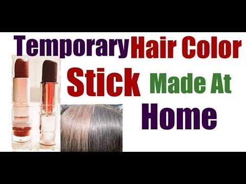 Hair Color Stick Made At Home Hair Color Gray White Hair