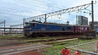 2019.07.27 貨物列車(4061列車)秋田駅発車