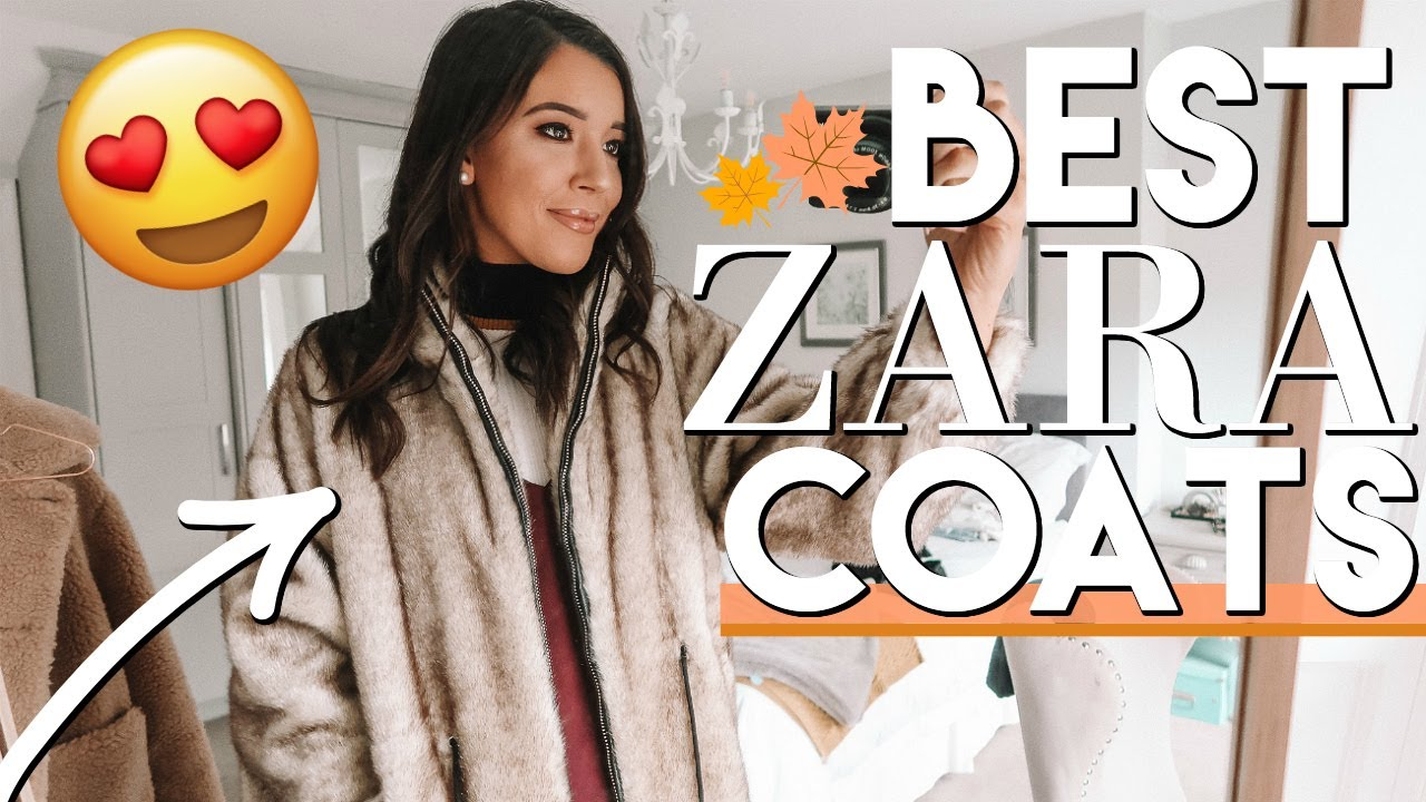 e898bac8048d BEST ZARA COATS   JACKETS FOR FALL 2018 TRY ON   DAY IN THE LIFE ...