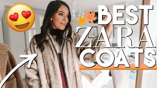 BEST ZARA COATS / JACKETS FOR FALL 2018 TRY ON & DAY IN THE LIFE