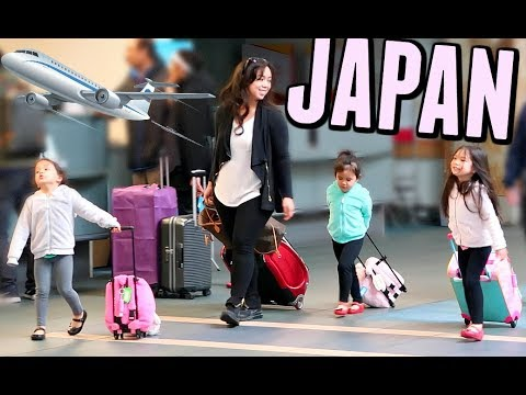 FLYING TO JAPAN! -  ItsJudysLife Vlogs