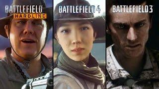 Battlefield Hardline, Battlefield 4 & Battlefield 3 - Graphics Comparison