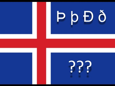 Learn Icelandic - The Letters Þ And ð