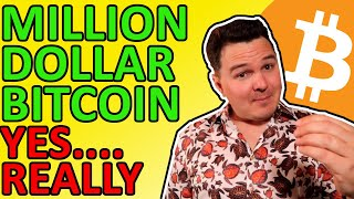 $1,000,000 BITCOIN PRICE PREDICTION!!! Yes, I'm Serious, Crazy Bullish Crypto News