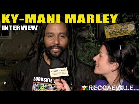 Interview with Ky-Mani Marley @Reggae Jam 2014