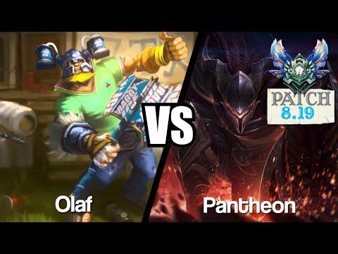 Vidéo d'Alderiate : [FR] OLAF VS PANTHEON - 8.19 - DIAMANT 1