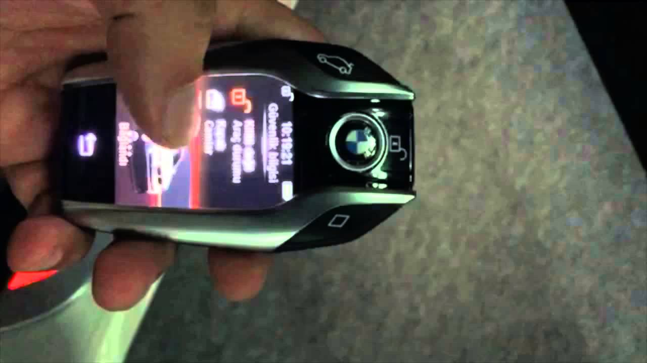 New BMW 7 Series >> New BMW 7 Series Keyless Entry LCD Fob - YouTube