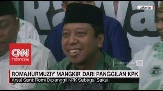 Romahurmuziy Mangkir dari Panggilan KPK