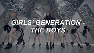 Girls' Generation (소녀시대) - 'The Boys' Easy Lyrics