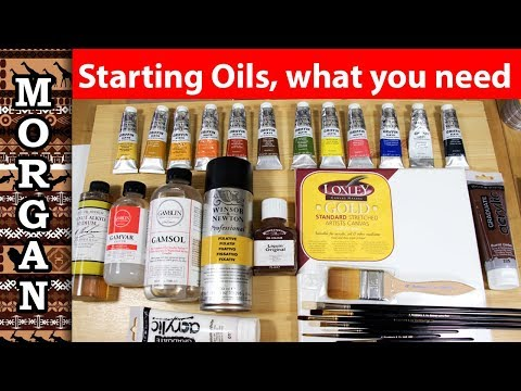 Oil Painting For Beginners Supplies - What You Need To Buy