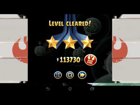 Angry Birds Star Wars Death Star 2 All levels