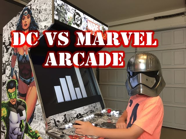 (DC vs Marvel) Arcade Build! - Game Room Solutions