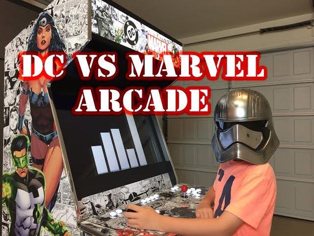 (DC vs Marvel) Arcade Build! - Game Room Solutions